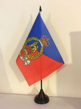 ADJUTANT GENERAL CORPS TABLE FLAG (MEDIUM 22.5cm x 15cm)
